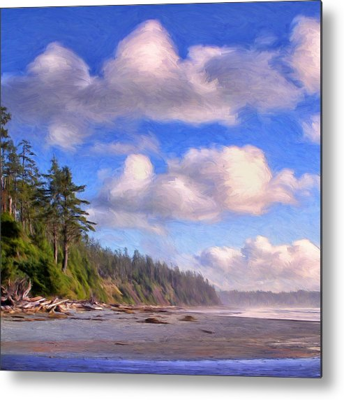 Vancouver Island Metal Print featuring the painting Vancouver Island by Dominic Piperata