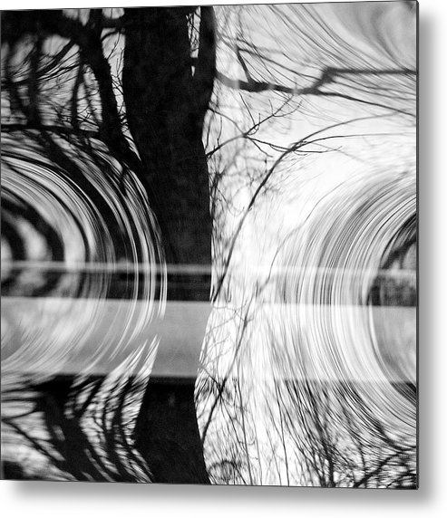 Abstracts Metal Print featuring the photograph Visual Funk 2 by Linda McRae