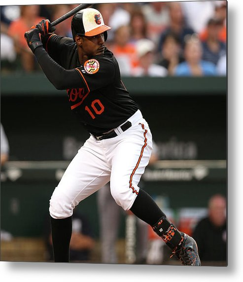 People Metal Print featuring the photograph Adam Jones by Patrick Smith