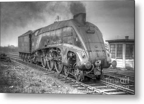 A4 Metal Print featuring the photograph A4 Class 60024 Kingfisher by David Birchall