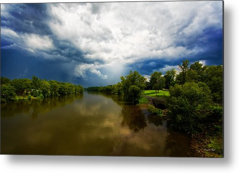 Storm Metal Print featuring the photograph After The Storm by Everet Regal