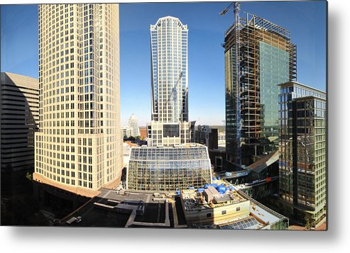 Charlotte Metal Print featuring the photograph Charlotte Nc - 12129 by DC Photographer