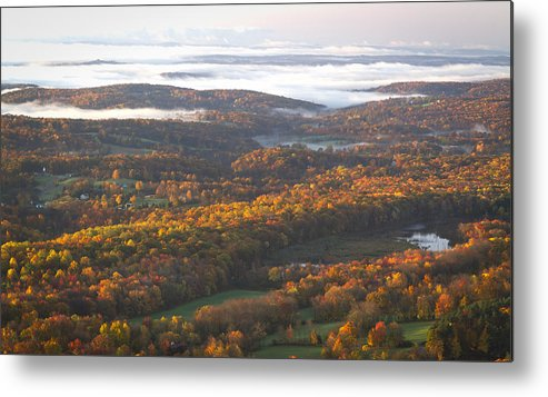 Collection.landscape Metal Print featuring the photograph Fall Sunrise Over New Jersey by Boris HD Photography