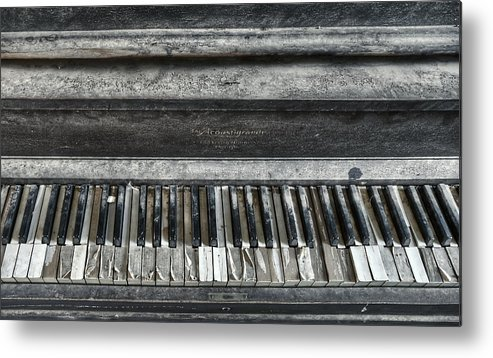 Piano Metal Print featuring the photograph Resonance by Heath Yonaites