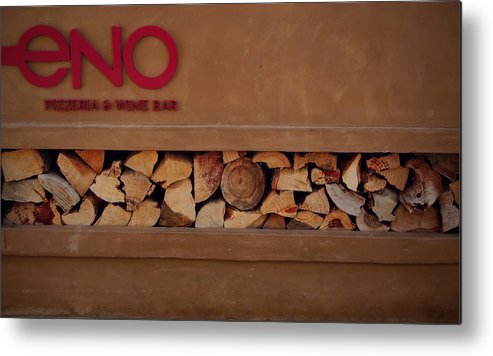 Wood-fired Metal Print featuring the photograph Wood-fired by See My Photos