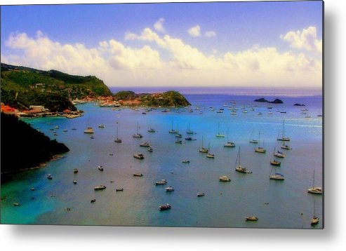 Anguilla Metal Print featuring the photograph Anguilla's Softness by Karen Wiles