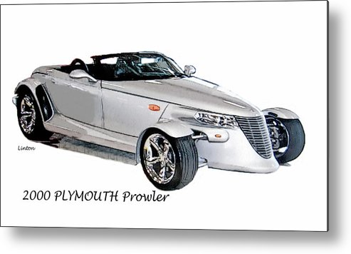 Plymouth Prowler Metal Print featuring the digital art Prowler by Larry Linton
