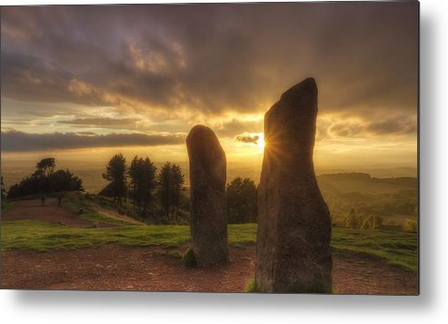 Horizontal Metal Print featuring the photograph Standing Stones by Rich Jones Photography
