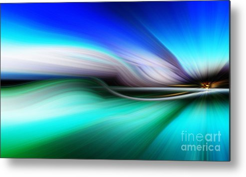 Art Metal Print featuring the photograph Abstract 0902 M by Howard Roberts