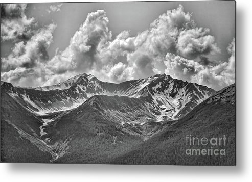 Alaska Metal Print featuring the photograph Alaska Black II by Chuck Kuhn