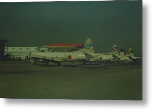 Airplane Metal Print featuring the photograph Japanese Airforce by Rob Hans