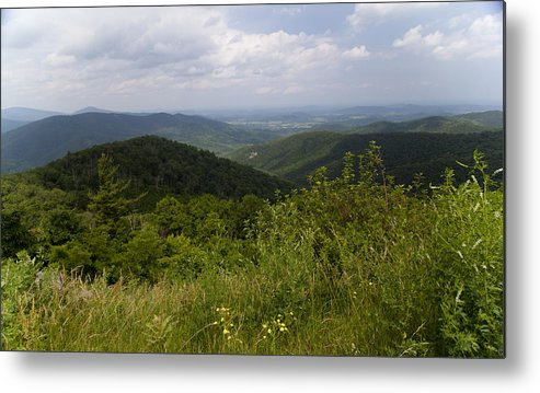 Shenandoah Metal Print featuring the photograph Shenandoah National Park - Skyline Drive by Christina Durity