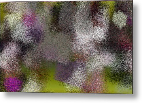 Abstract Metal Print featuring the digital art T.1.1003.63.5x3.5120x3072 by Gareth Lewis