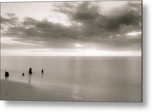 Beach Metal Print featuring the photograph Untitled by Bill Martin