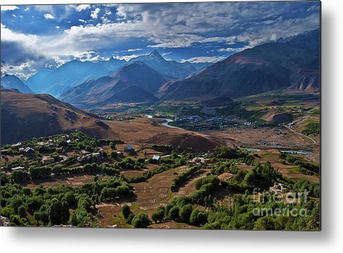 Drass Metal Print featuring the photograph Drass... by Nina Stavlund