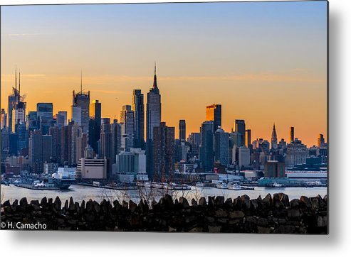 Nyc Metal Print featuring the photograph Early Sunrise by Heriberto Camacho