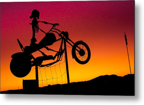 Ghostrider Metal Print featuring the photograph Ghostrider by Hasnain Shabbir