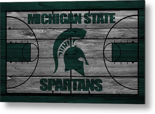 Spartans Metal Print featuring the photograph Michigan State Spartans by Joe Hamilton