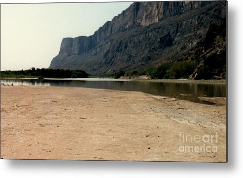 Big Bend National Park Metal Print featuring the photograph Mountain At Big Bend by Ruth Housley