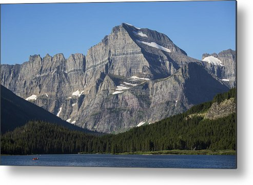 Gould Metal Print featuring the photograph Mt Gould II by Ross Murphy