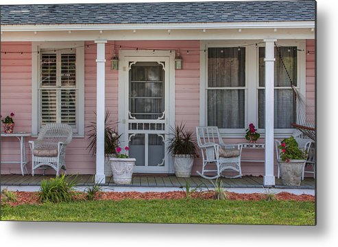 St. Augustine Metal Print featuring the photograph Pretty As Pink by Rich Franco