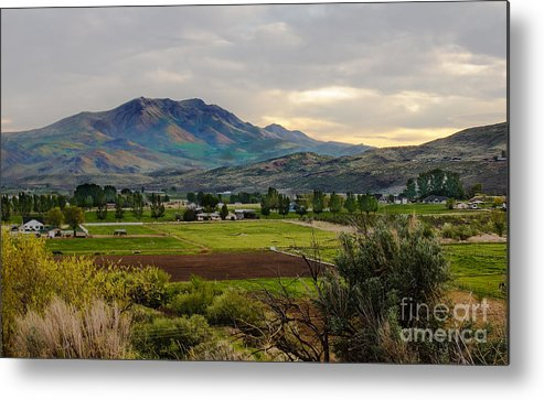 Gem County Metal Print featuring the photograph Spring Time In The Valley by Robert Bales