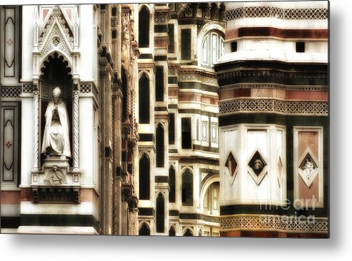The Duomo Metal Print featuring the photograph The Duomo Up Close by Mike Nellums