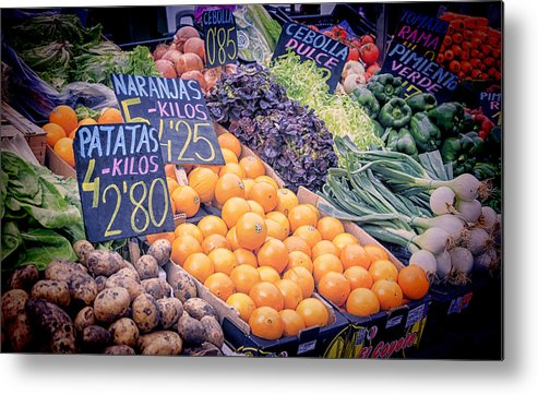 Agricultural Metal Print featuring the photograph Wonderful In Any Language by Joan Carroll
