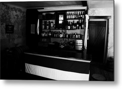 Bar Metal Print featuring the photograph Belly Up by Phil Cappiali Jr