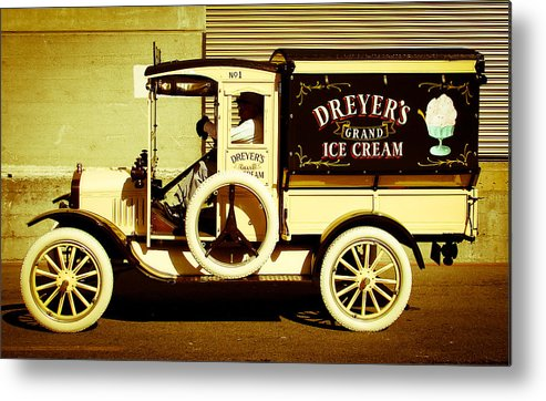Truck Metal Print featuring the photograph Ice Cream Truck by Jake Johnson