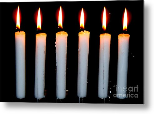 Candles Metal Print featuring the photograph Sick Scandals by Michael Canning