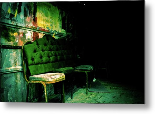 Metal Print featuring the photograph ..... by Kristina Wilke