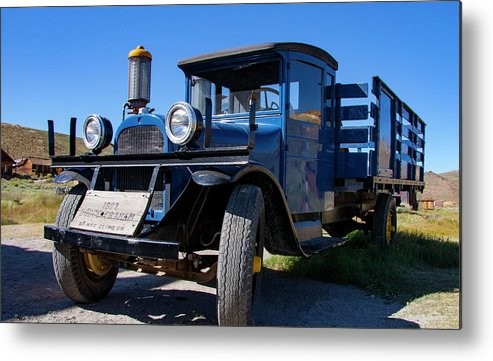 Vintage Vehicle Metal Print featuring the photograph 1927 Dodge Graham 1 by Chris Brannen