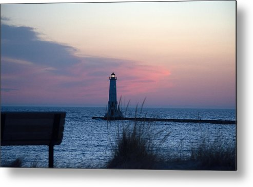 Michigan Metal Print featuring the photograph Pretty In Pink by Linda Kerkau