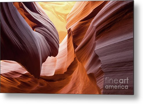Antelope Canyon Metal Print featuring the photograph Antelope Canyon by KaFra Art