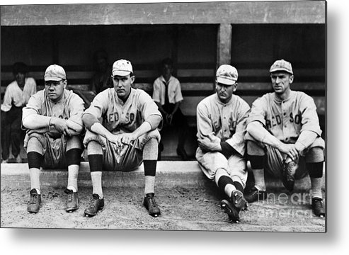 1916 Metal Print featuring the photograph Boston Red Sox, C1916 by Granger