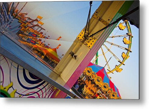 Carnival Metal Print featuring the photograph Carnival 1 by Skip Hunt