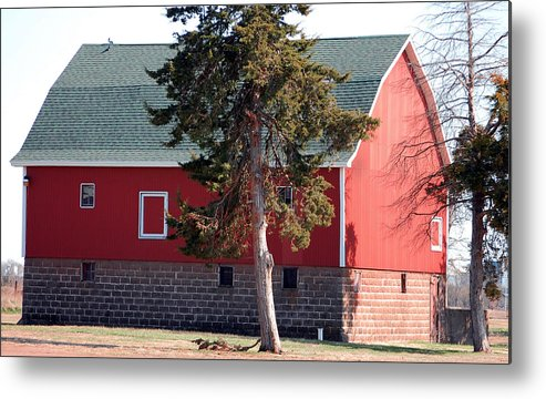 Barn Metal Print featuring the photograph Family Barn by Jame Hayes