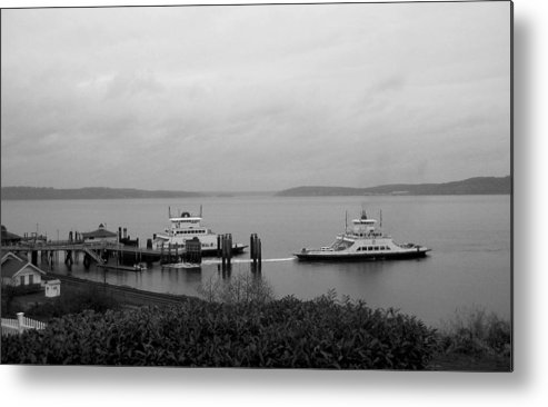 Nature Metal Print featuring the photograph Ferry by Ty Nichols