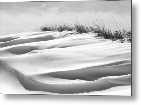 Indiana Metal Print featuring the photograph Indiana Snow by Michael L Kimble
