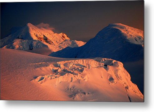 Sunset Metal Print featuring the photograph Midnight Sunset by Alasdair Turner