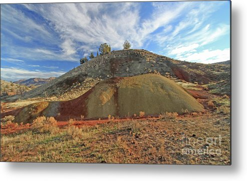 Hills Metal Print featuring the photograph Morning Light by Gary Wing