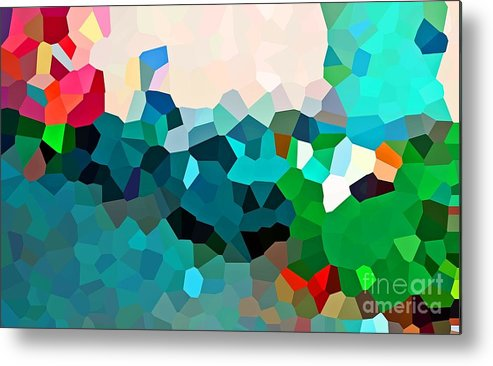 Mosaic Metal Print featuring the photograph New Light by Tracy Long