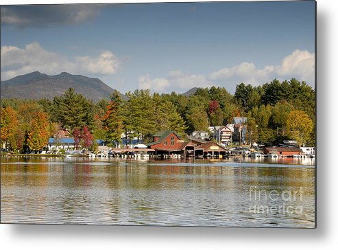 Saranac Lake New York Metal Print featuring the photograph Saranac Lake by David Lee Thompson