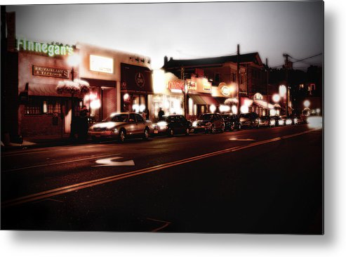 Long Island Metal Print featuring the photograph Wall Street by Michael Simeone