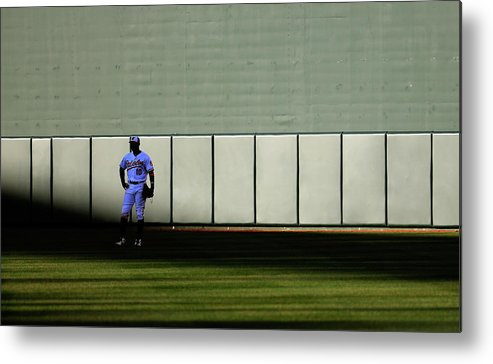 Ninth Inning Metal Print featuring the photograph Fielder Jones by Rob Carr