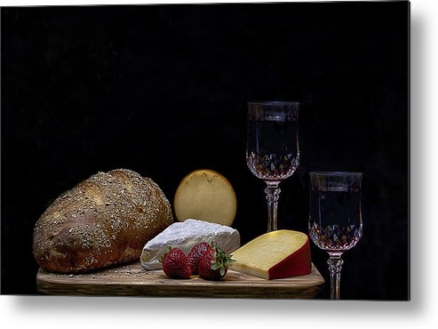 Bread Metal Print featuring the photograph Be My Guest by Susan Williams