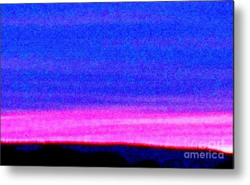 Abstract Metal Print featuring the photograph Abstract Landscape by Eric Schiabor