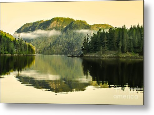 Reflections Metal Print featuring the photograph Early Morning Reflections by Robert Bales