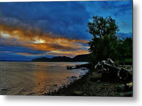 Rockland County Landscapes Metal Print featuring the photograph Haverstraw Bay by Thomas McGuire